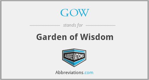 GOW - Garden of Wisdom