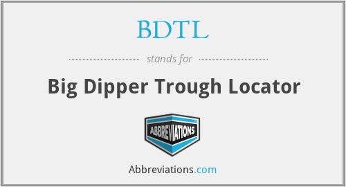 BDTL - Big Dipper Trough Locator
