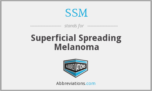 SSM - Superficial Spreading Melanoma