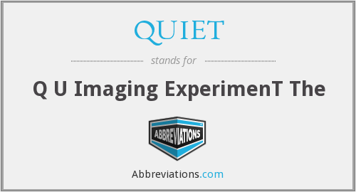 QUIET - Q U Imaging ExperimenT The