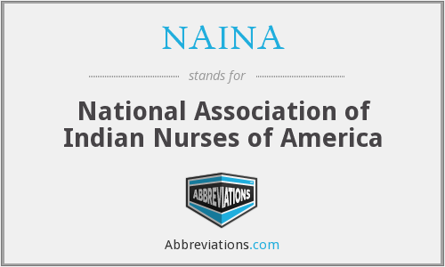 What does NAINA stand for?