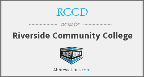 What does RCCD stand for?