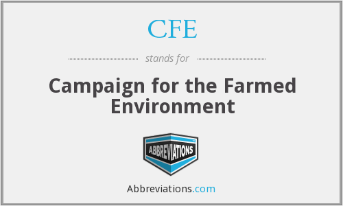 CFE - Campaign for the Farmed Environment