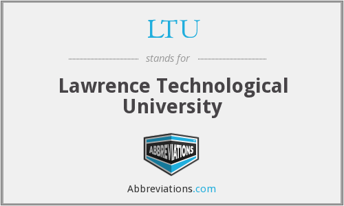 What does LTU stand for?