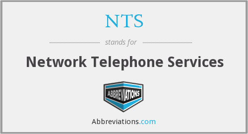 NTS - Network Telephone Services