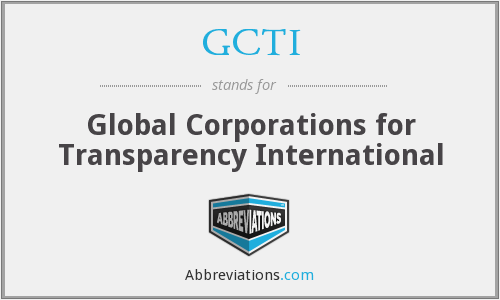 GCTI - Global Corporations for Transparency International
