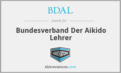 What does BDAL stand for?