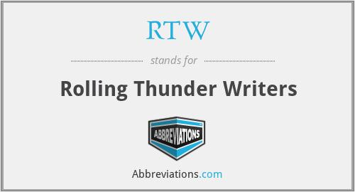 RTW - Rolling Thunder Writers