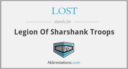 LOST - Legion Of Sharshank Troops