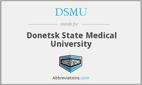 DSMU - Donetsk State Medical University