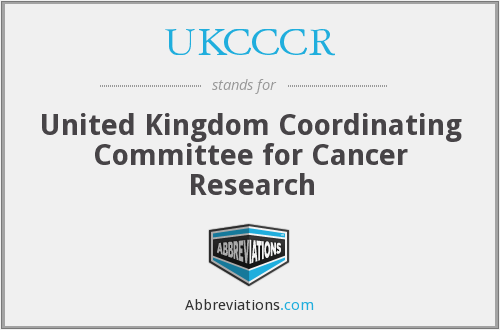 What does UKCCCR stand for?