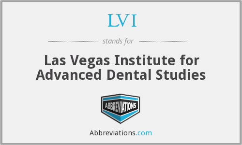 What does LVI stand for?
