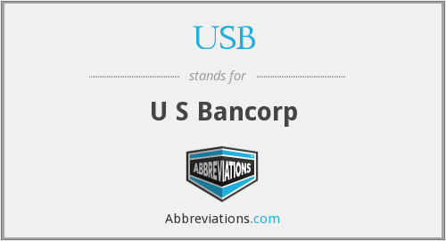 USB - U S Bancorp