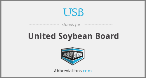 USB - United Soybean Board