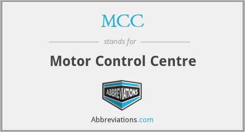 MCC - Motor Control Centre