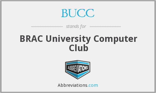 What does BUCC stand for?