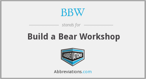 BBW - Build a Bear Workshop