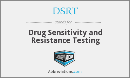 What does DSRT stand for?