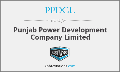 What does PPDCL stand for?