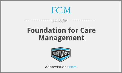 What does FCM stand for?