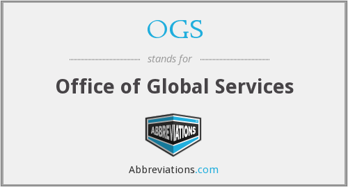 OGS - Office of Global Services