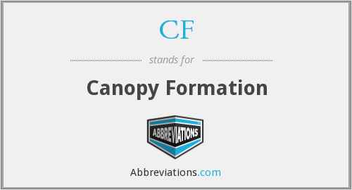 CF - Canopy Formation