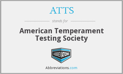 ATTS - American Temperament Testing Society