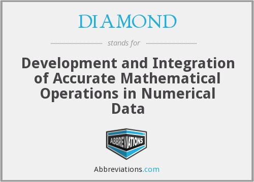 DIAMOND - Development and Integration of Accurate Mathematical Operations in Numerical Data