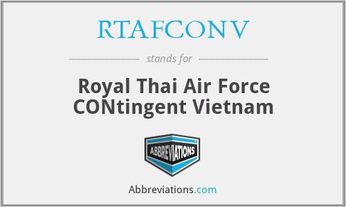 RTAFCONV - Royal Thai Air Force CONtingent Vietnam