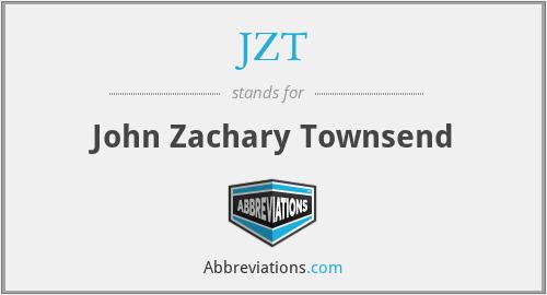 JZT - John Zachary Townsend