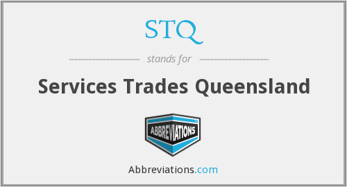 STQ - Services Trades Queensland