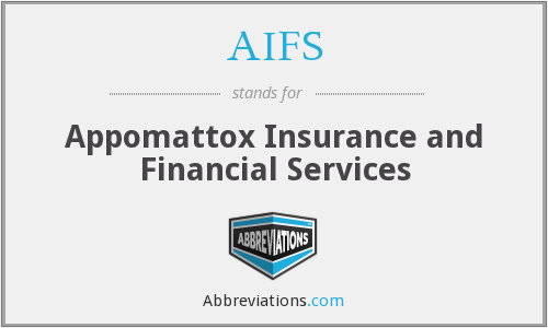 AIFS - Appomattox Insurance and Financial Services