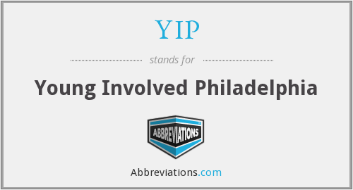 YIP - Young Involved Philadelphia