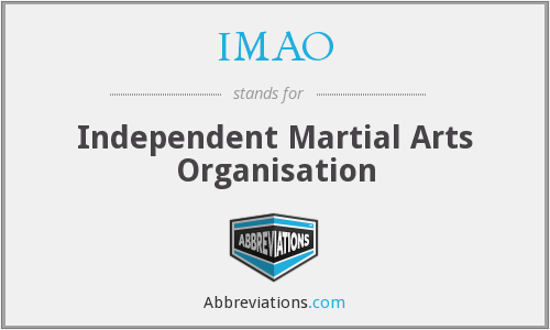IMAO - Independent Martial Arts Organisation