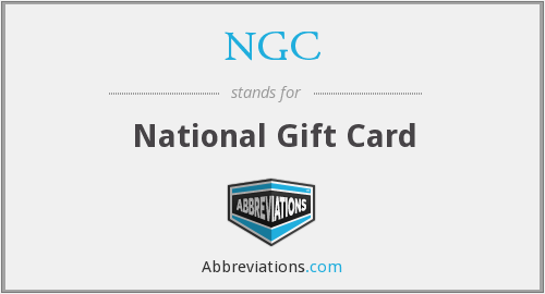 NGC - National Gift Card