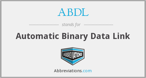 ABDL - Automatic Binary Data Link