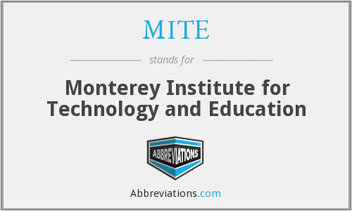 What does MITE stand for?