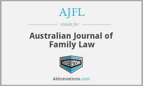 AJFL - Australian Journal of Family Law