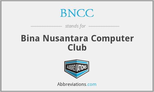 BNCC - Bina Nusantara Computer Club