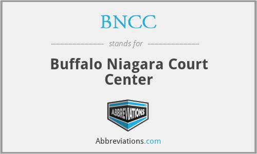 BNCC - Buffalo Niagara Court Center