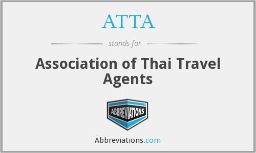 ATTA - Association of Thai Travel Agents