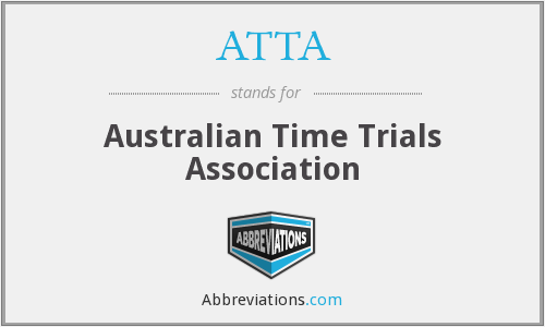 ATTA - Australian Time Trials Association