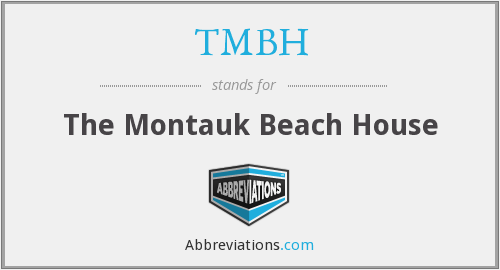 What does TMBH stand for?