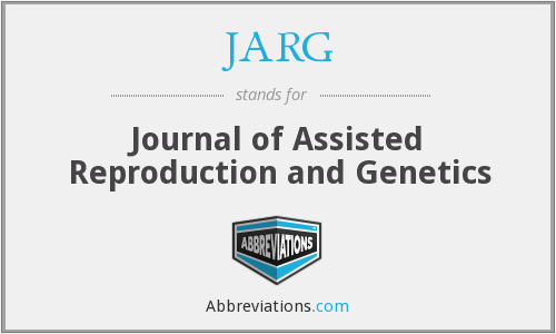 What does JARG stand for?