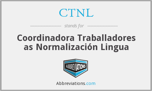 What does CTNL stand for?