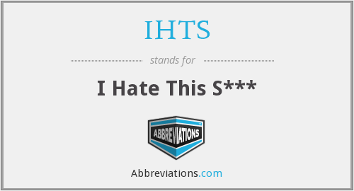 What does IHTS stand for?