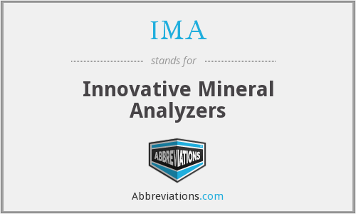 IMA - Innovative Mineral Analyzers