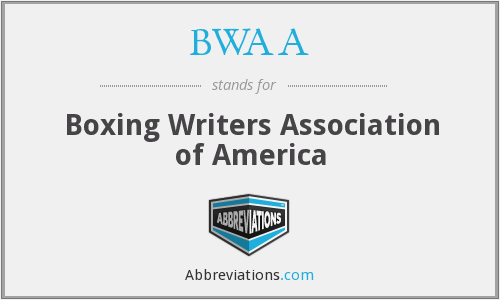 What does BWAA stand for?
