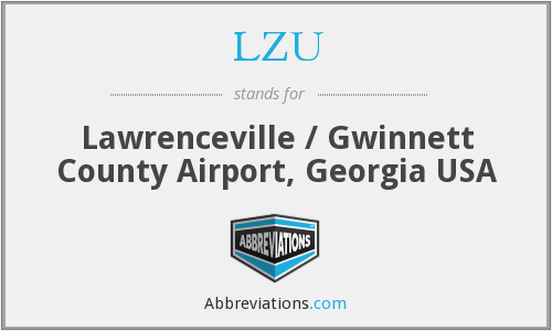LZU - Lawrenceville / Gwinnett County Airport, Georgia USA