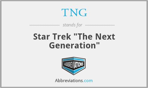 TNG - Star Trek